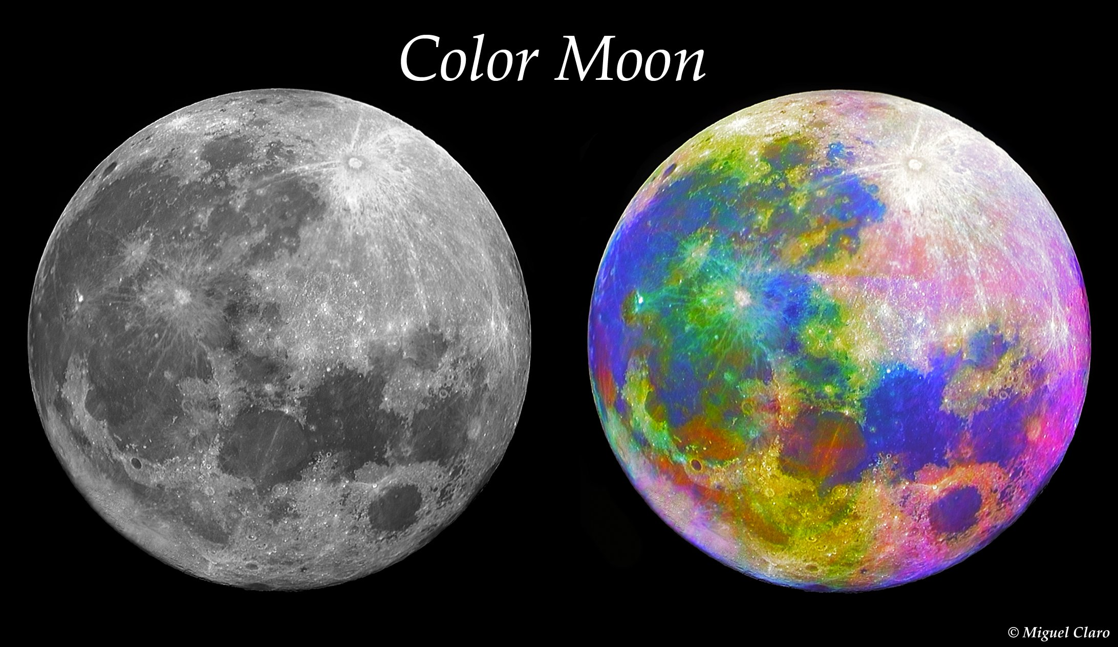 Different Moons - Pics about space